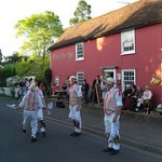 Thaxted Morris Men at the Fleur